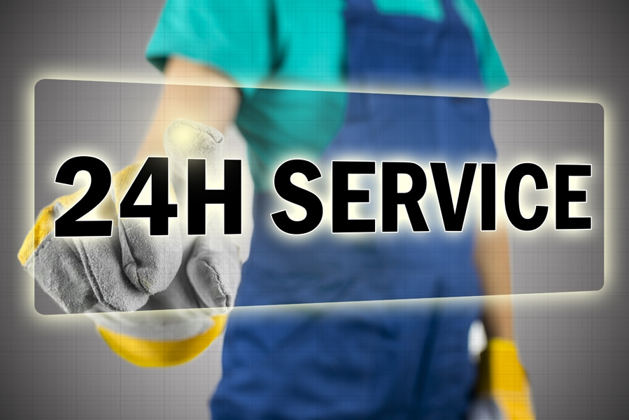 24-Hour Emergency HVAC Service
