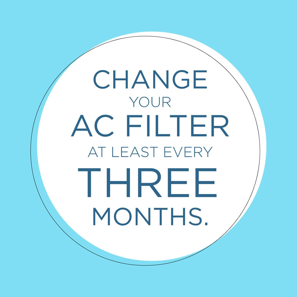 change ac air conditioner filter