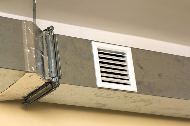 Leaky Air Duct
